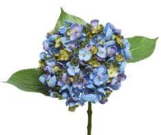 Kaemingk Hortensje, poliester - niebieski
