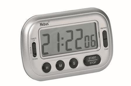 Brodnik digitalni časomer, srebrna, 51190012