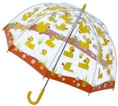 Blooming Brollies Przezroczysty parasol dla Kids Buggz Kids Stuff Duck SBUDU