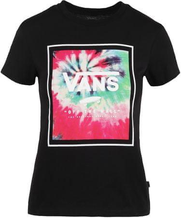 Vans ženska majica Wm Boxed Dye Black, L
