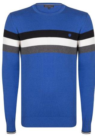 FELIX HARDY moški pulover, L, moder