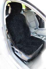 MAMMOOTH Poťah na sedadlo z ovčej kože, predné sedadlá, farba čierna