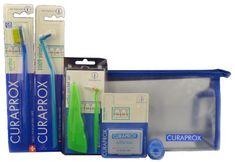Curaprox SK Ortho Kit profesionálna sada starostlivosť o zuby so strojčekom 6ks