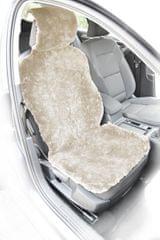 MAMMOOTH Poťah na sedadlo z ovčej kože, predné sedadlá, farba biela