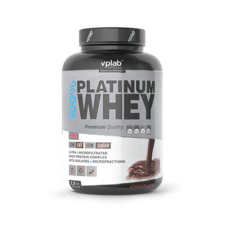 VPLAB proteini 100% Platinum Whey 2.3 kg, čokolada