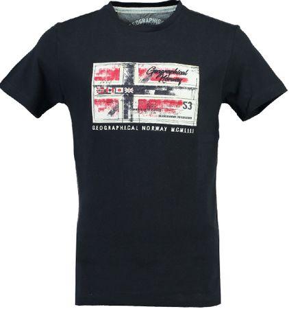 9bc30fdd6ca6 Geographical Norway pánské tričko Jorge M tmavě modrá