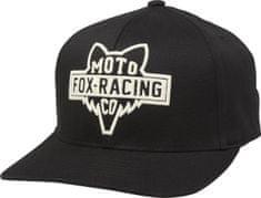 FOX muška kapa sa šiltom Flathead 110 Snapback Hat, crna