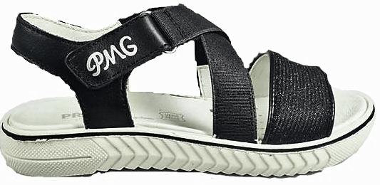 Primigi dívčí páskové sandály 33 černá