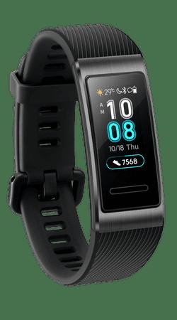 Huawei Band 3 Pro, fekete