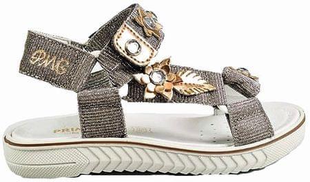 Primigi sandale za djevojčice sa cvijećem, 27, zlatne