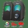 6 - Trust zestaw głośników Arys Compact RGB