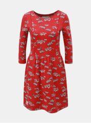 Brakeburn červené květované šaty
