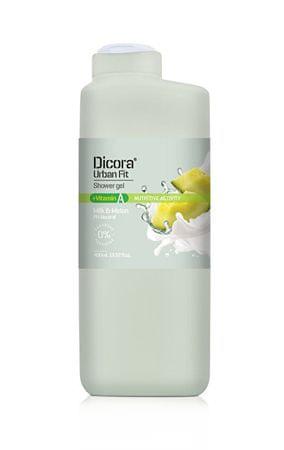 Dicora Sprchový gél s vitamínom A Mlieko & melón (Shower Gel) 400 ml