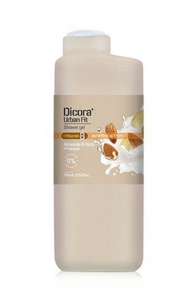Dicora Sprchový gél s vitamínom B Mandle & orechy (Shower Gel) 400 ml