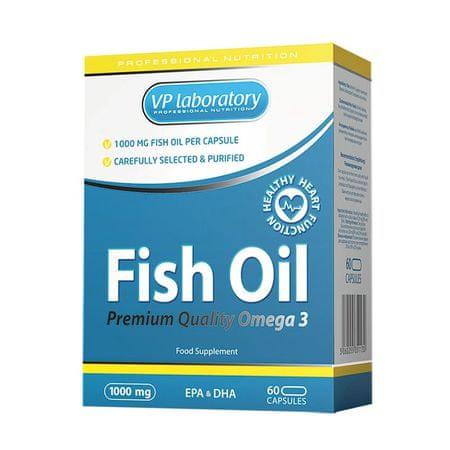VPLAB ribje olje, 60 kapsul