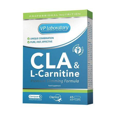 VPLAB CLA & L – Carnitine, 45 kapsula