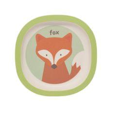 ZOPA Bambusový talířek Fox