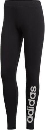 Adidas ženske tajice W E Lin Tight /Black/White, S, crno-bijele