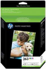 HP zestaw fotograficzny Q7966EE, nr363, Foto Value Pack (Q7966EE)