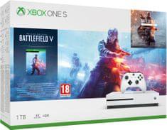 Microsoft Xbox One S 1TB + Battlefield V Deluxe Edition