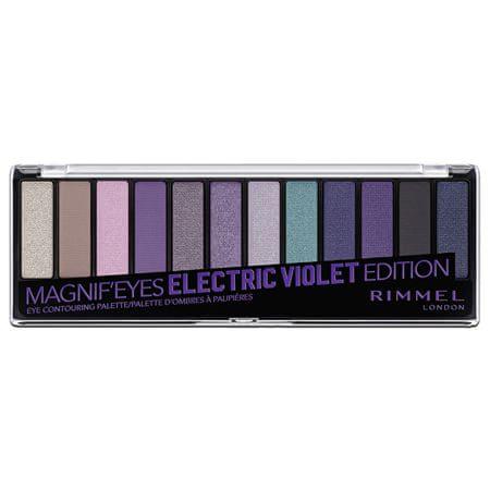 Rimmel 12 (Eyeshadow Palette) 14,16 g (árnyalat 002 Blush Edition)