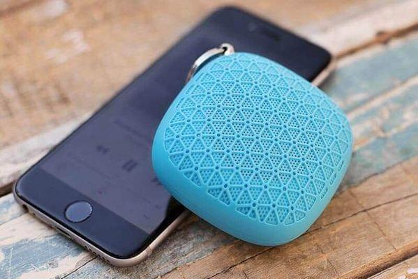 Bezdrátový reproduktor Niceboy Soundgo selfie spoušť mini rozměry do kapsy prémiový zvuk bluetooth dosah 10 m