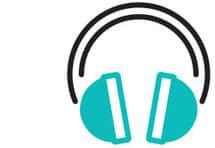 Reproduktor MP3 přehrávač, možnost připojit sluchátka.