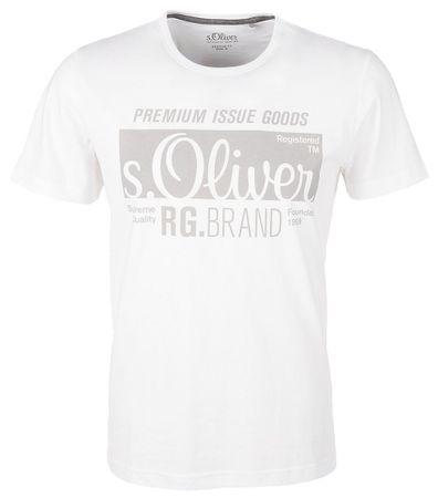 c828345f8859 s.Oliver pánské tričko XL biela