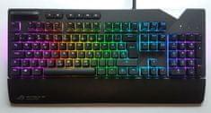 Asus gaming tipkovnica ROG Strix Flare, MX Brown, RGB, HR