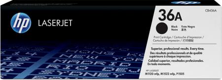 HP CB436A Festékkazetta, Fekete