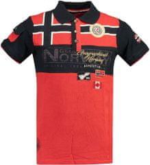 Geographical Norway moška polo majica s kratkimi rokavi Klipo