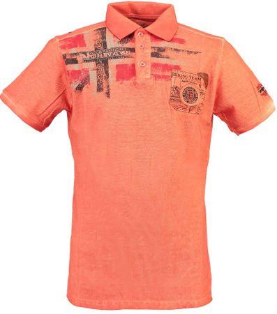 Geographical Norway Kamo férfi pólóing L narancssárga