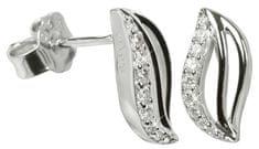 Silver Cat Srebra kolczyków z kryształami SC039 srebro 925/1000