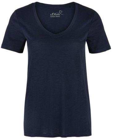 s.Oliver T-shirt damski 42 ciemnoniebieski