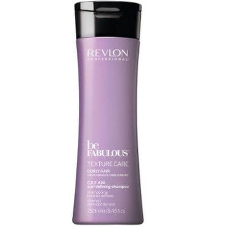Revlon Professional Szampon do włosów kręconych Be Fabulous Texture Care ( Curl Defining Shampoo) Cream ( Curl Defining (objętość 8432225088532 250 ml)