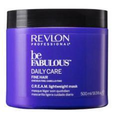 Revlon Professional Hydratační maska pro jemné vlasy Be Fabulous Daily Care (Cream Lightweight Mask)