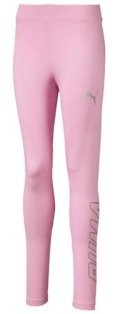 Puma dievčenské legíny Alpha 128 ružová