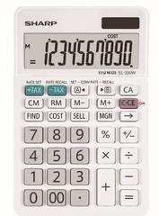 Sharp kalkulator EL330W, namizni, 10-mestni