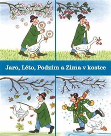 Bernerová Rotraut Susanne: Jaro, Léto, Podzim a Zima v kostce