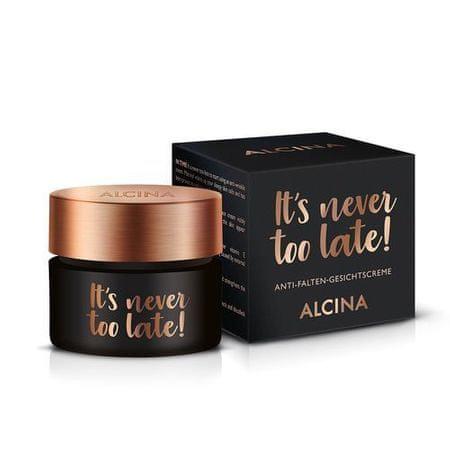 Alcina It´s never too late! nappali arckrém (Anti-Wrinkle Face Cream) 50 ml