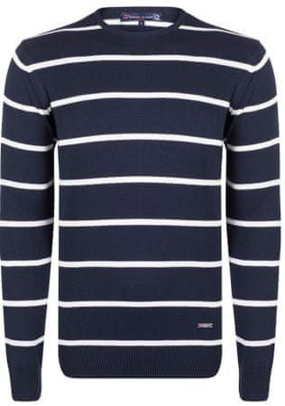 Giorgio Di Mare moški pulover, XXL, temno moder