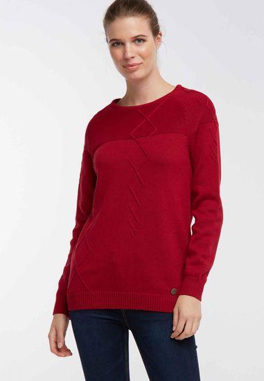 DreiMaster dámský svetr XL červená