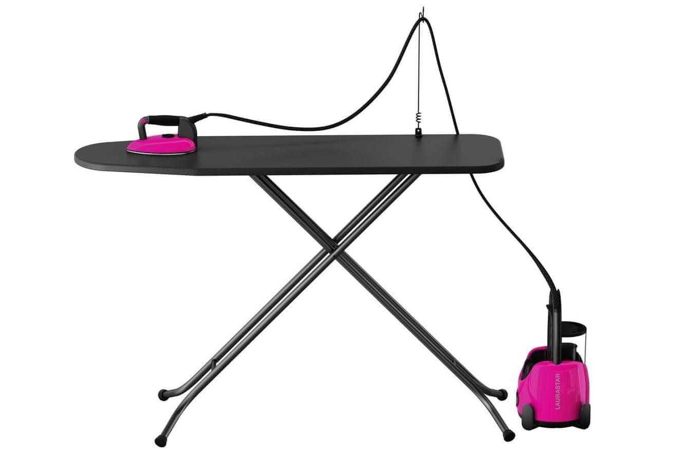 Laurastar LIFT Plus pinky pop žehlička s doskou