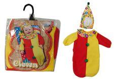 Widmann kostum Baby klovn + kapa, 35930