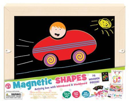 Fiesta Crafts Mozaika magnetyczna - kształty