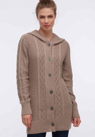 DreiMaster ženski pulover 34248580, S, rjav