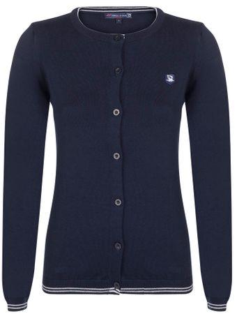 Giorgio Di Mare ženski pulover, temno moder, XL