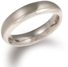 Boccia Titanium Eljegyzési gyűrű titánból 0130-07