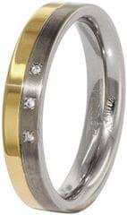 Boccia Titanium Titán gyűrű gyémánttal 0129-04