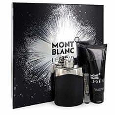 Mont Blanc Legend - EDT 100 ml + borotválkozás utáni balzsam 100 ml + EDT 7,5 ml